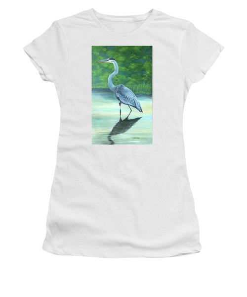 Blue Heron Women's T-Shirt