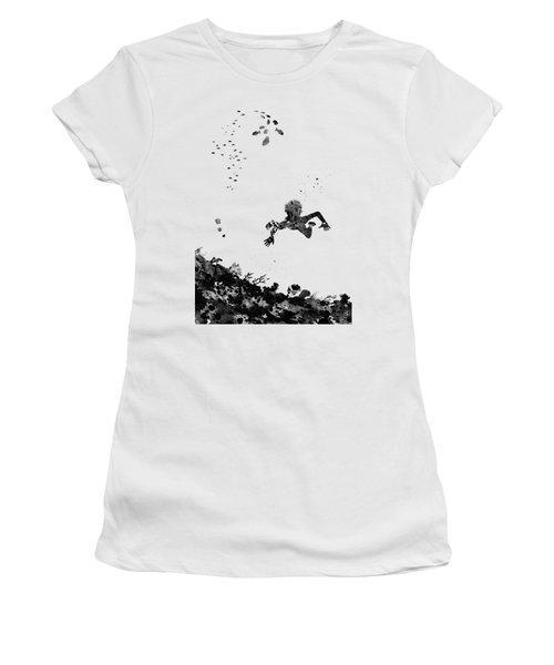 Boy Swimming Women's T-Shirt