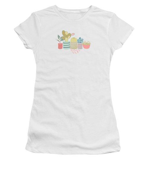 Cactus Garden Women's T-Shirt