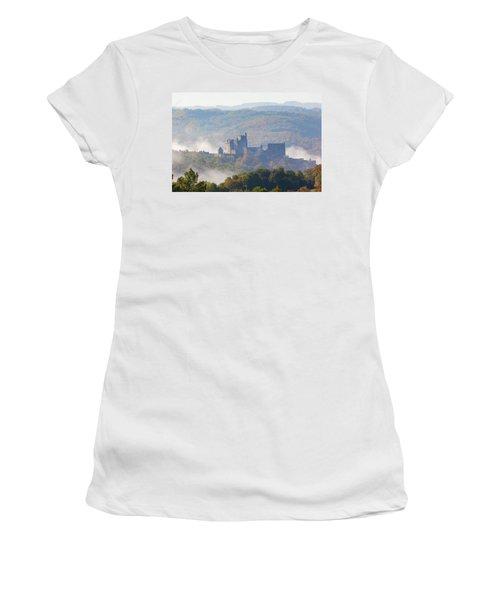 Chateau Beynac In The Mist Women's T-Shirt