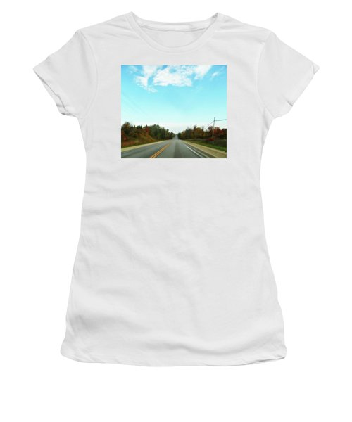 Collingwood In The Distance Women's T-Shirt