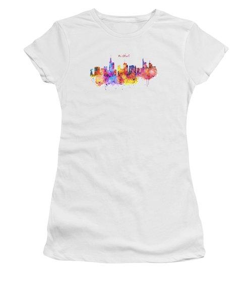 Frankfurt Skyline Women's T-Shirt
