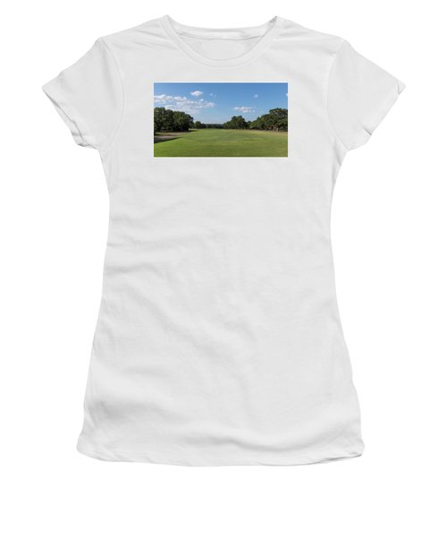 Hole #1 Women's T-Shirt (Athletic Fit)