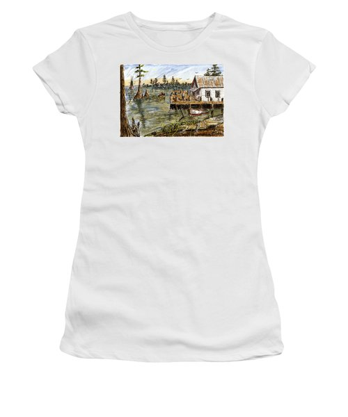 In The Swamp Women's T-Shirt