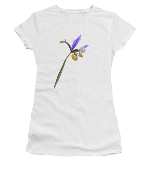 Iris On A Transparent Background Women's T-Shirt