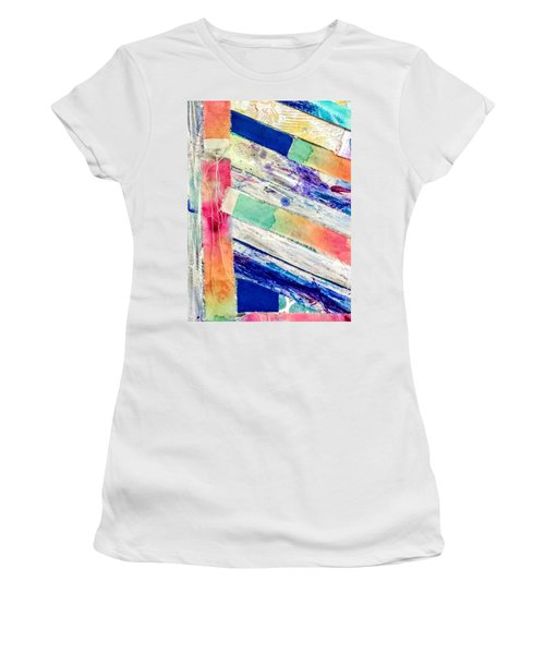 Out Of Site, Out Of Mind Women's T-Shirt (Athletic Fit)