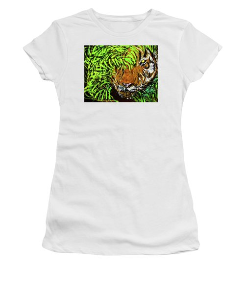 Tiger In Bamboo Women's T-Shirt