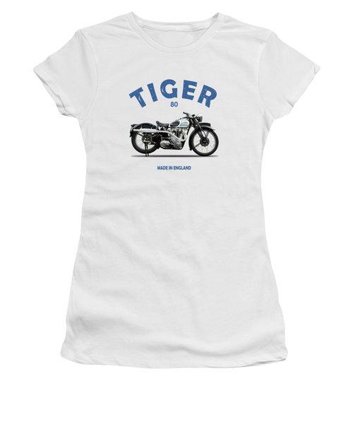 Triumph Tiger 80 Women's T-Shirt