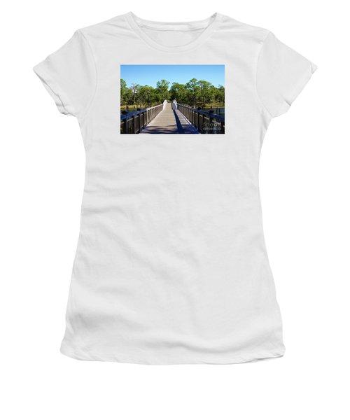 Western Lake Bridge Women's T-Shirt