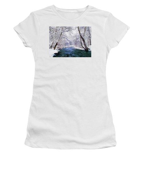 Winter White Women's T-Shirt