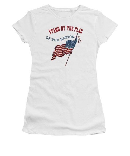 1863 Stand By The Flag - Civil War - T-shirt Women's T-Shirt