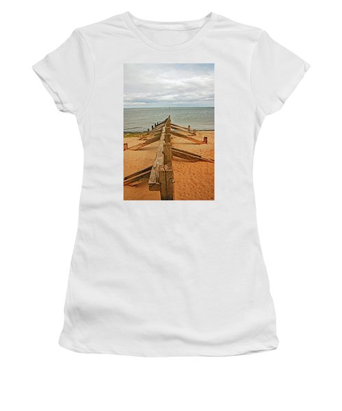 19/08/13 Edinburgh, Poetobello. The Shore And Groynes. Women's T-Shirt