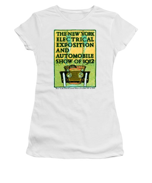 1912 Electric Expo And Auto Show Women's T-Shirt