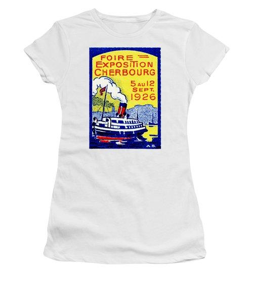 1926 Cherbourg France Exposition Women's T-Shirt