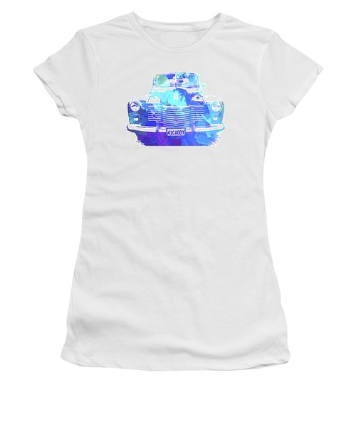 1941 Cadillac Front Abs Blue Women's T-Shirt
