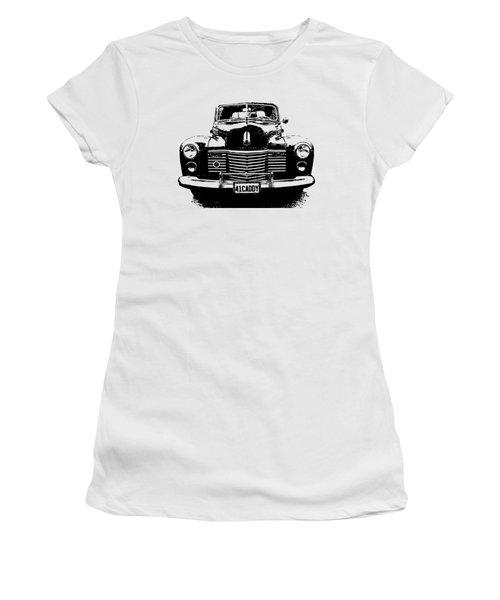1941 Cadillac Front Blk Women's T-Shirt