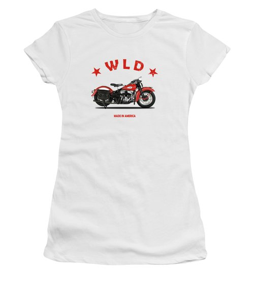 1941 Harley Model Wld Women's T-Shirt