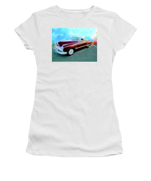 1949  Buick Convertable Women's T-Shirt