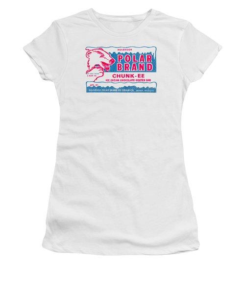 1950s Polar Brand Ice Cream Women's T-Shirt