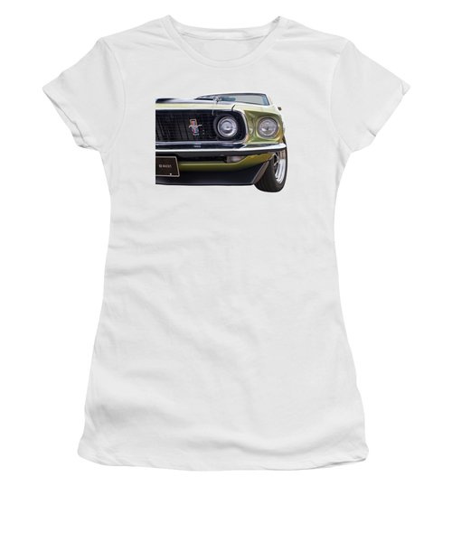 1969 Mustang Mach 1  Women's T-Shirt (Athletic Fit)