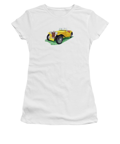 1949 M G T C  Women's T-Shirt