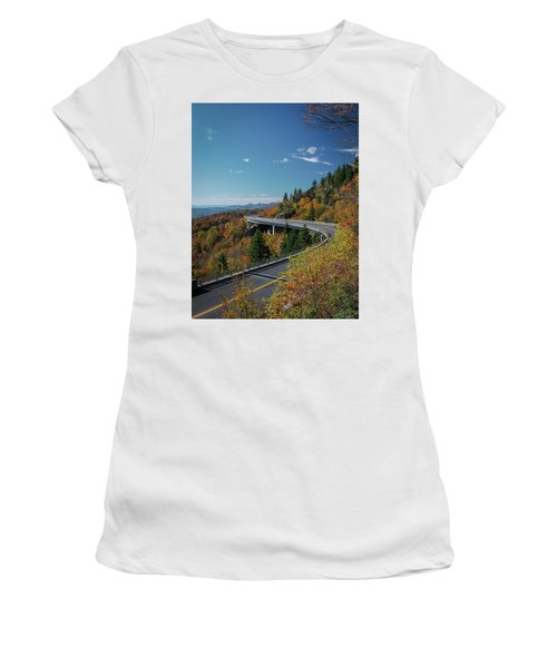 Linn Cove Viaduct - Blue Ridge Parkway Women's T-Shirt