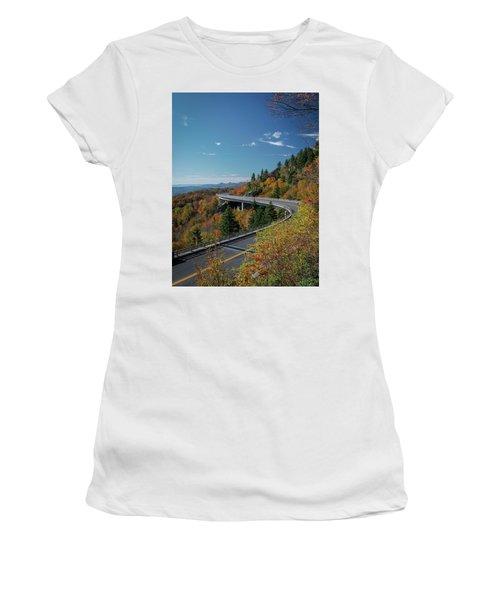Linn Cove Viaduct - Blue Ridge Parkway Women's T-Shirt