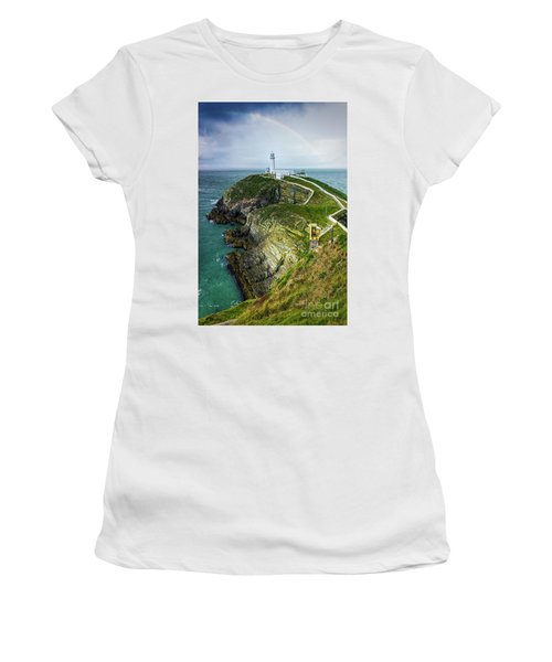 South Stack Lighthouse Women's T-Shirt