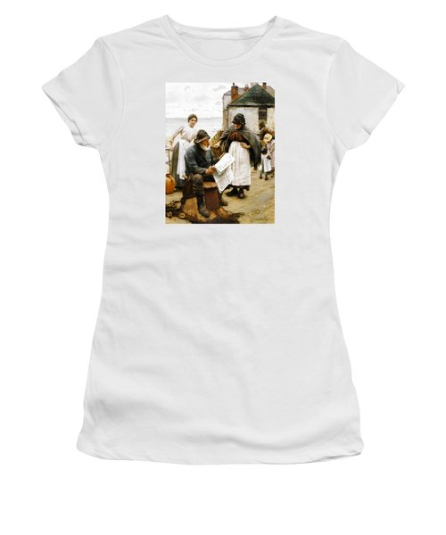 When The Boats Are Away Women's T-Shirt