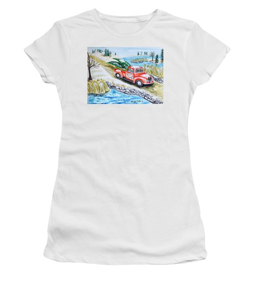A Cape Cod Christmas Women's T-Shirt