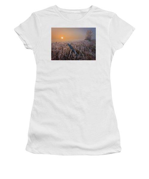 A Crisp October Morning Women's T-Shirt