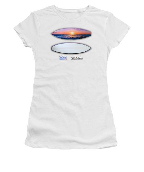A Purple Orange Majestic Sunset-- For Shirts Women's T-Shirt