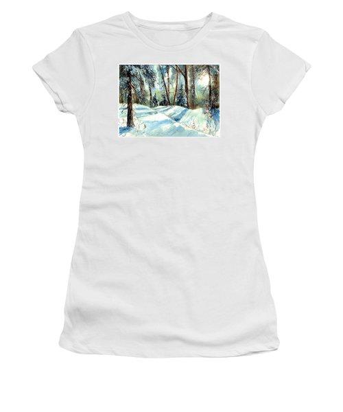 A True Winter Wonderland Women's T-Shirt