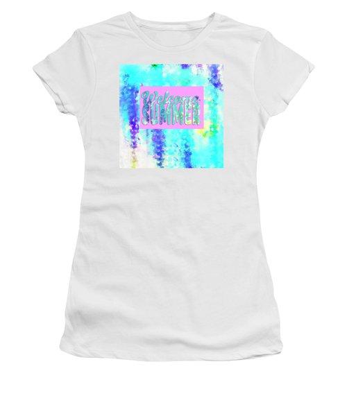 Welcome Summer Desert Print Women's T-Shirt