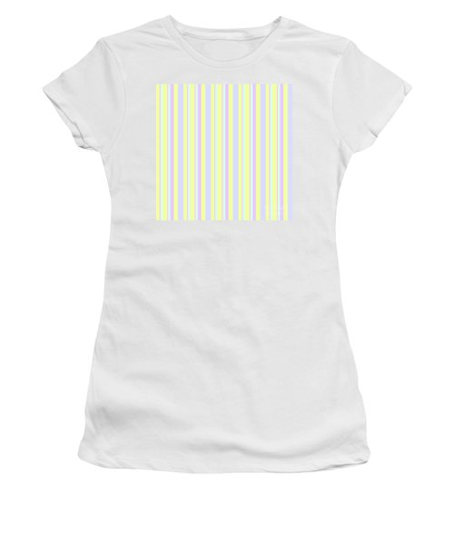 Abstract Fresh Color Lines Background - Dde595 Women's T-Shirt
