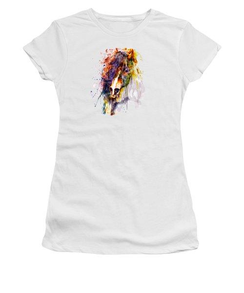 Abstract Horse Head Women's T-Shirt