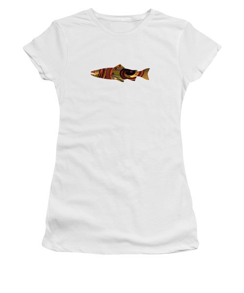 Abstract Trout Women's T-Shirt