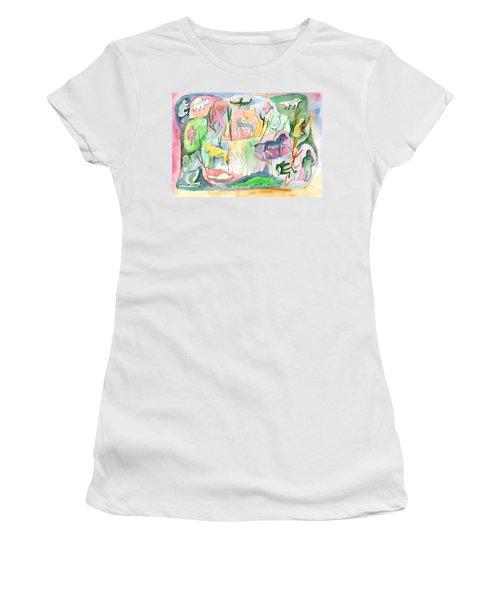 Abstraction Living World Women's T-Shirt