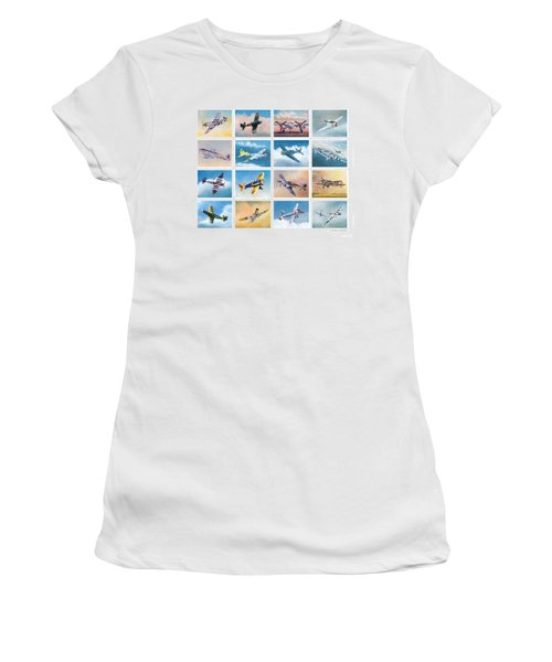 Airplane Poster Women's T-Shirt