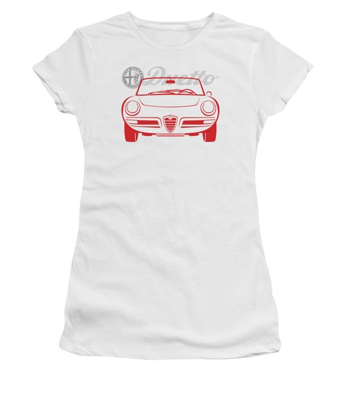 Alfa Duetto Spider-2 Women's T-Shirt