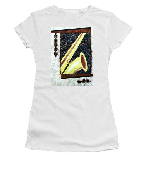 All That Jazz Saxophone Women's T-Shirt