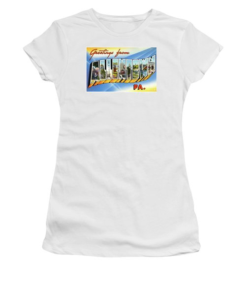 Allentown Greetings Women's T-Shirt