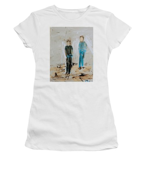 Angel Boys On A Dirt Road Women's T-Shirt