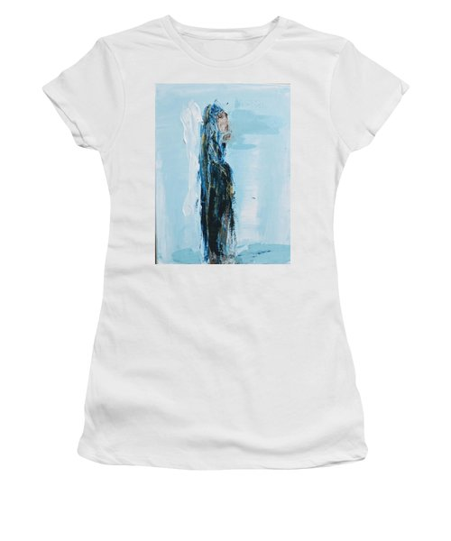 Angel With Child Women's T-Shirt