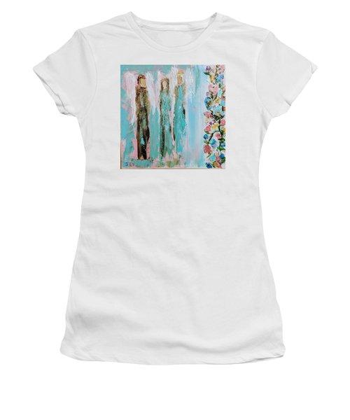 Angels In The Garden Women's T-Shirt