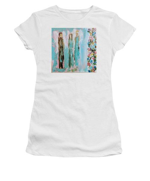 Angels In The Garden Women's T-Shirt