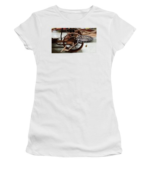 Antique Tractor Seat Women's T-Shirt