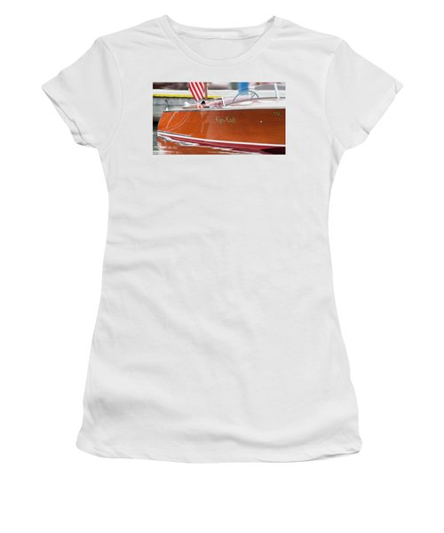 Antique Wooden Boat 1305 Women's T-Shirt