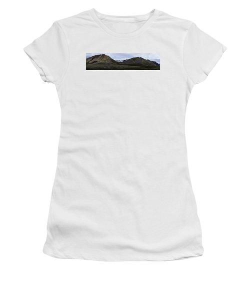 Arctic Mountain Landscape Women's T-Shirt