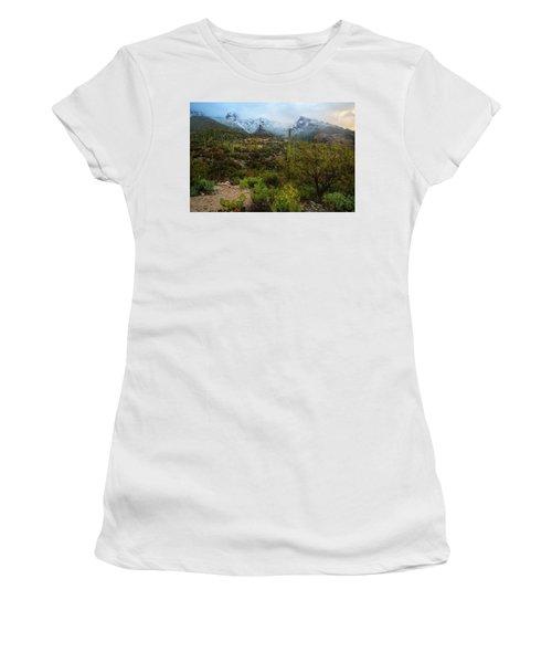 Arizona Winter Light Women's T-Shirt